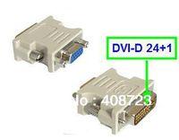 DVI DVI-D 24+1 M TO VGA F MONITOR ADAPTER CONVERTER