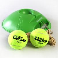 6357 tennis ball trainer base 2 fasciole high quality tennis ball