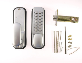 KL-201 Keyless mechanical code lock, door lock with push button,no need power supply