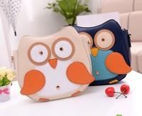 2013 personality cartoon penguin bag owl one shoulder cross-body women's mini bags