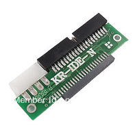 "2.5"" 44-Pin to 3.5"" 40-Pin IDE Hard Drives HDD Laptop Adapter"