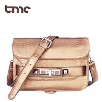 2013 Portable TMC Summer Women Fashion Retro Snake Skin Pattern Messenger Bag Casual Crossbody Shoulder Bag YL189