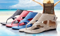 Ludwig tianlun lvtianlun2013 new arrival summer sandals women's shoes flip-flop flat heel flat single shoes female
