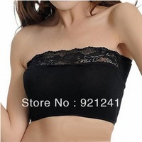 2013 Spring wild modal strapless lace bra wrapped chest Bra short paragraph female factory direct