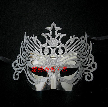 Masquerade masks Christmas halloween mask supplies mask powder laciness mask