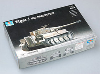 Trumpeter  07243 1/72  Tiger I tank Mid plastic model kit