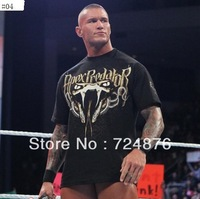 Free shipping men's round neck short sleeve T-SHIRT many colors  RKO  star T-SHIRT