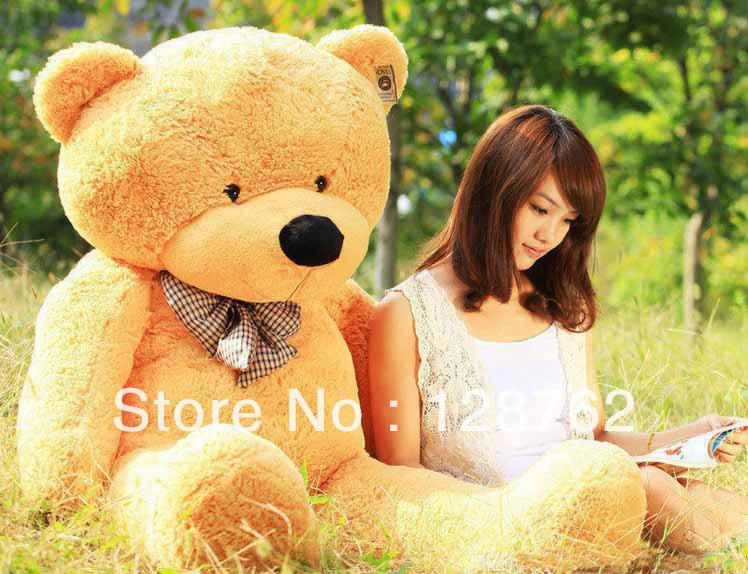 large size 60cm New high qutity Low price teddy bear Plush toys big embrace bear doll(China (Mainland))