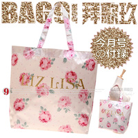 Bag liz lisa rose handle satin quality bag shopping bag ra090