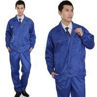 Work wear set male protective clothing workwear set long-sleeve work wear