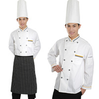 Uniform work wear overalls cook clothes long-sleeve work wear