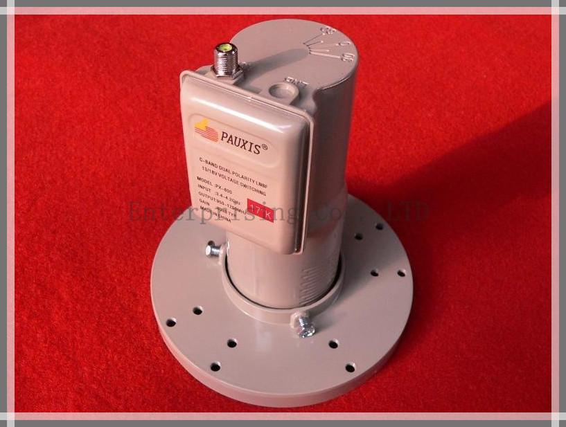 13 V / 18 V V / H chave de voltagem LNBF banda C LO 5150 GHz banda C LNB PAUXIS satélite LNBF banda C grátis frete(China (Mainland))