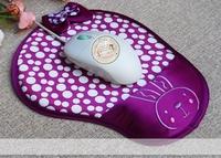 Wrist Comfort Mice Pad Mat Mousepad for Optical Mouse