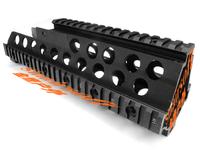 HK G36/G36C Handguard Quad Rail System Mount Low Profile Free Shipping