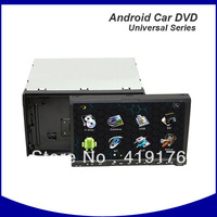 Android 4.0 Universal Car dvd player with DVD+GPS+3G Wifi,2 din android car dvd,android universal car dvd,