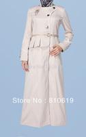 Hot sale Islamic TURKISH women's JILBAB , Coat TK-262  Series(MOQ: 24 Piece) ,(Abaya , Jilbab, muslim woman's cloth ,)