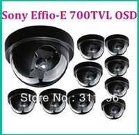 Effio-E Small mini dome camera SONY 1/3'' Color CCD 700TVL plastic indoor camera security