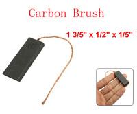 "1 3/5"" x 1/2"" x 1/5"" Carbon Brush for Generic Washing Machine Electric Motor 10pcs"