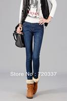 9003 Free Shipping New winter Women's Slim Leggings Trouser Skinny Pants Stretchy Denim Jeans Tight DropShipping