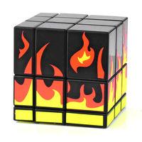 New 2014 VK Supersede Mirror Blocks Puzzle Blaze Magic Cube - Black Free shipping