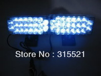 2pcs*22LED Emergency Flash Grill Light white color Auto truck led warning light