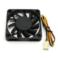 CoolCox 60x60x10mm DC fan, CC6010M12B,DC brushless fan,DC Axial fan,6010 cooling fan,Ball bearing,2510-3P connector,5pcs/lot