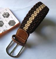 Free Shipping 100-130cm High Quality Casual Elastic Knitted belt  Wholesale Unisex Newest Designer Unisex Elastic Knitting Strap