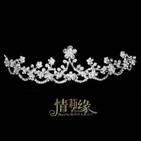 The bride hair accessory marriage accessories hair accessory rhinestone wedding dress hair accessory set crystal garishness