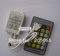 DC12V-24V 24key Color Temperature LED Controller Dimmer for SMD 5050 3528 Color temp LED Strip