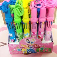 Lanyard ballpoint pen 10 ballpoint pen multi color ballpoint pen