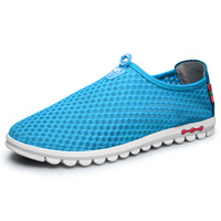 Summer gauze breathable ports casual shoes the trend of the foot wrapping  cutout hole  single shoes