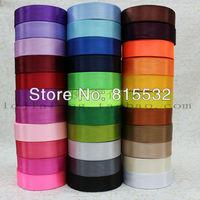 """Free shipping 10pcs/lot 1"""" 25mm 2.5cm Single Satin Xmas Ribbon/wedding decortion/crafts DIY material Ribbons 33 Color 25 YARDS"""