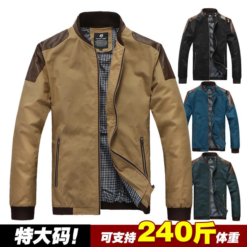Free shipping plus size XXL XXXL 4XL 5XL 6XL 7XL 8XL mens clothing outerwear spring slim