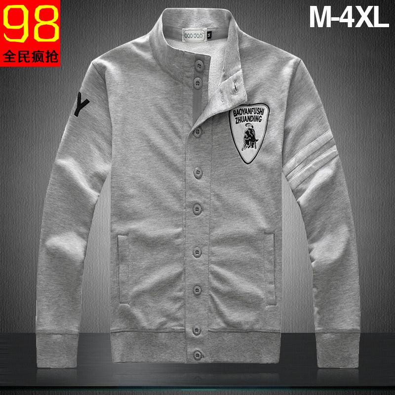 Free shipping Spring coat men s plus size sport men clothing outerwear xxxxl 4xl xxxxl jacket