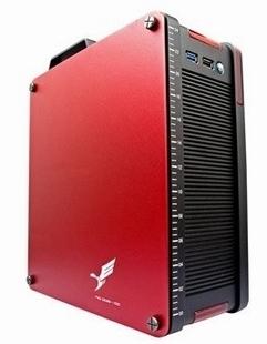 1 aluminum htpc computer case b75-itx motherboard mini computer case screwdriver
