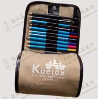 1509 brief pencil bags roll canvas pencil pen curtain pen bag stationery bags 36