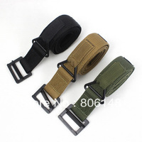 Wholesale 120*4 cm  Unisex Outdoor sports blackhawk canvas belt   High quality Army CQB inner canvas belt  Free shipping