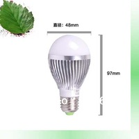 3w led bulb e27 gold color