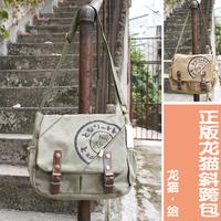 free shipping Totoro bag totoro canvas series shoulder bag cross-body bag thickening canvas
