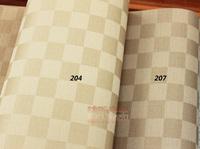 Wallpaper papel parede 2014 new grid PVC wall  bedroom