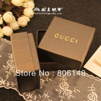 Free shipping 7.3*7.3*3.5cm 20pcs/lot High quality gift packaging box,High grade necklace bracelet earrings jewelry square box
