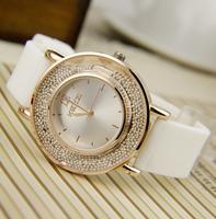 fashion  Gift kezzi Brand silicone Watches Women Dress Watch Relogio Waterproof Ladies Watch Gift Clock lady watch free shipping