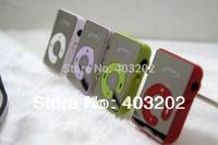 free shipping Mini Clip Mp3 Player,sport Mirror Mp3,  clips MP3 MIRROR 100pcs/lot