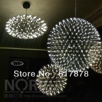 moooi-Raimond chandelier modern minimalist restaurant sparks planet designer stainless steel chandelier G3881