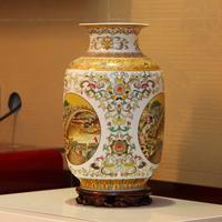 Jingdezhen ceramic modern chinese style vintage vase at home decoration crafts vase decoration