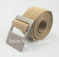 Free shiping 110cm  2013 men's high quality newest style men's fashion canvas belt, Wholesale male casual canvas Strap