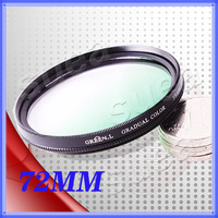 Gradient green 72mm gradient mirror circle gradient mirror gradient green 72mm