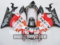 REPSOL fairings for HONDA CBR600F4 1999-2000 CBR 600F4 CBR600 F4 600 F4 99 2000 1999 00 fairing kit