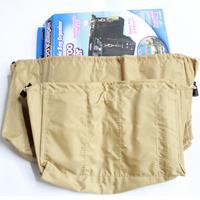 Cosmetic bag storage bag storage bag in bag kangaroo keepertv products