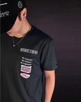 Free shipping 2012 male short-sleeve T-shirt shote pocket decoration t-shirt male short-sleeve